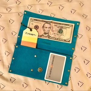 Handmade leather one of a kind wallets